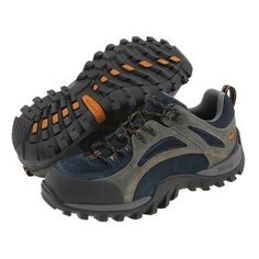 low priced 59e39 89b8d TIMBERLAND PRO MUDSILL LOW STEEL TOE MEN S INDUSTRIAL SHOES -  TITANIUM SAPPHIRE LEATHER WITH MESH