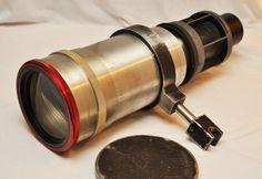 Vintage Cinemascope Projector Lens  Circa 1950s  Movie by DLDowns