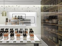 TA ZE Premium Olive Oil Store by Burdifilek, Toronto