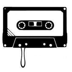Stickers Cassette Audio 1 Stencil Graffiti, Stencil Art, Audio, Casette Tapes, Silhouette Art, Vinyl Projects, Word Art, Art Reference, Old School