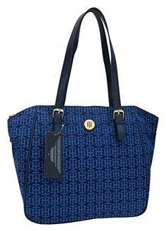 Tommy Hilfiger Handbag, TH Signature Shopper Tote | Women's Handbags & Wallets