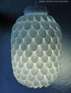 Лампа от лъжици