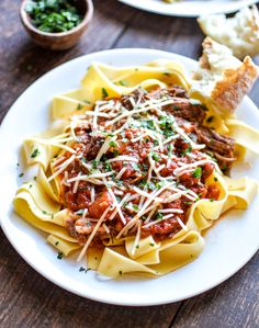 Slow Cooker Beef Ragu: a Sunday supper recipe to get excited about! | www.cookingandbeer.com