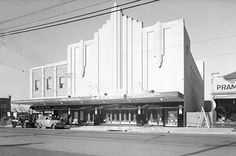 Built on the site of the Burwood Palais Theatre in the Burwood district of Sydney. The Astor Theatre opened on Wednesday, August 1934 with cer. Australian Photography, Advertising Poster, Ads, Old Signs, Festival Posters, Sydney Australia, Beautiful Buildings, Theatre Posters, Movie Posters