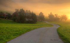 Golden morning by Rune Askeland