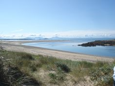 Cymyran Beach, close to Rhosneigr on Anglesey's west coast - on a clear morning like this you can see down the Lleyn Peninsula to The Rivals - perfect!