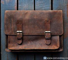 Leather Messenger Bag Leather Bag