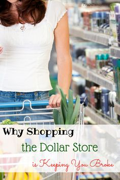 Shopping the dollar store can save you money. Here's three tips to get the most out of your dollar when shopping the dollar store.