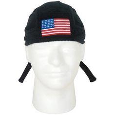 Headwraps - USA Flag - Black $5.02 #Patriotic #Headwraps http://www.armynavyshop.com/prods/fxo89-02.html