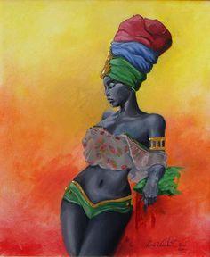 Jamaican Vibe Painting - Jamaican Vibe Fine Art Print