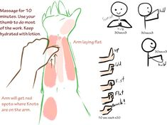 Helpful Arm Stretches for Artists by Uluri on DeviantArt Arm Stretches, Arms, Articles, Deviantart, Weapons