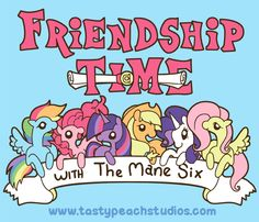 MLP: Friendship Time by *MoogleGurl on deviantART
