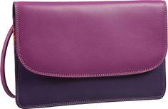 Mywalit Cross Body Purse Bag Safari Multi (innen: Violett) - Abendtasche   Clutch