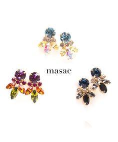 【masae】Pettite Bijoux pierces #シータ・ミュー