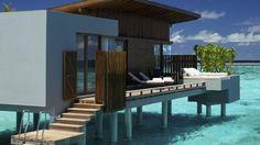 Exterior view of a Park Water Villa at Park Hyatt Hadahaa Resort Maldives Travel, Maldives Resort, Maldives Bungalow, Maldives Honeymoon, Dream Vacations, Vacation Spots, Vacation Club, The Places Youll Go, Places To Go