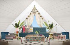 Mood Board by Christina Di Vito Interior Styling, Interior Decorating, Modern Moroccan, Moroccan Style, Online Interior Design Services, Loft Spaces, Furniture Design, Sweet Home, House Design