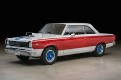 This 1969 AMC SC/Rambler-Hurst is so immaculate, it doesn't even look real. Honestly,the thing looks like a die cast model, partially because of the excellent lighting in the photos, but mostly because it's so over the top that I can hardly believe it was actually produced. But produced it was, albeit