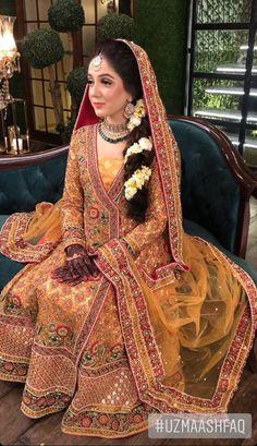Pakistani Wedding Outfits, Pakistani Wedding Dresses, Pakistani Dress Design, Bridal Outfits, Bridal Mehndi Dresses, Bridal Dresses Online, Wedding Dresses For Girls, Bridal Gowns, Mayon Dresses