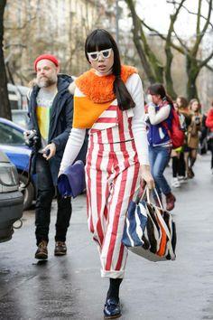 Susie Bubble @ Milan Fashion Week F/W2014.15