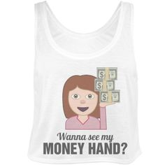 Wanna see my money hand toss? Funny crop top for color guard practice and marching band camp in the heat of the summer. Marching Band Problems, Marching Band Humor, Flute Problems, Band Mom, Band Nerd, Color Guard Makeup, Color Guard Quotes, Color Guard Shirts, Band Jokes