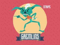 Gremlins - Stripe ch