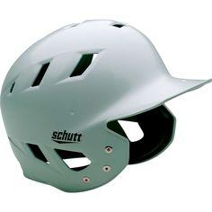 Schutt Air Maxx T Batting Helmet, Silver, LG