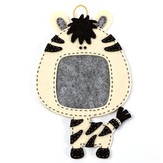 zebra photo frame