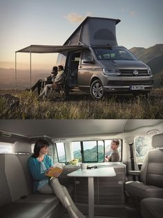Volkswagen have unveiled the latest version of their popular California Camper Van. Designed for outdoor recreation enthusiasts, the base model offers up to 7 seats and up to five beds depending on which configuration you choose.