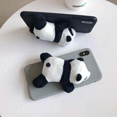 Plush Panda Soft Phone Case Cover iPhone