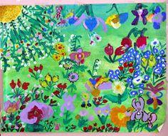 Ma petite maternelle: Marché aux fleurs Painting, Art, Flower Market, Preschool, Spring, Art Background, Painting Art, Kunst, Paintings