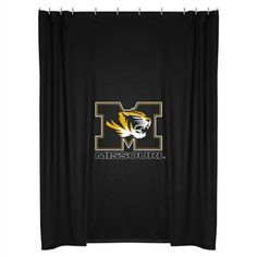 Sports Coverage University of Missouri Shower Curtain - TigersSC