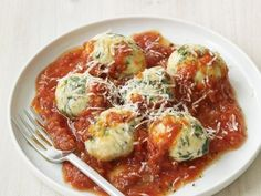 These homemade Spinach and Ricotta Dumplings come together with just 20 minutes prep. Save even more time by topping them with a prepared marinara sauce.