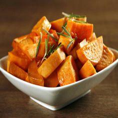 I love sweet potatoes.