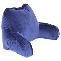 Plush Backrest Pillow - Bed Bath