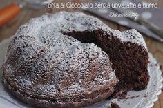 Torta al Cioccolato senza uova,latte e burro
