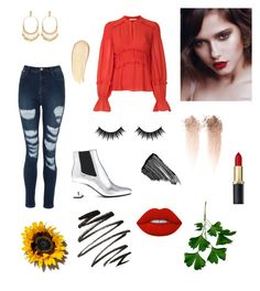 """""""Untitled #70"""" by emese-knolmar on Polyvore featuring Yves Saint Laurent, Tory Burch, Chloé, Morphe, Sisley and Lime Crime"""