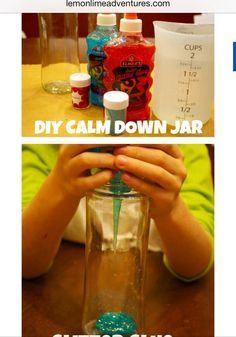 How to make a calm down jar