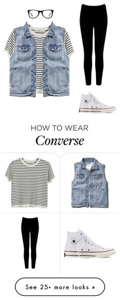 """""""It's All About Those Basics"""" by mpaige117 on Polyvore featuring Chicnova Fashion, Abercrombie & Fitch, Warehouse, Converse and Muse"""