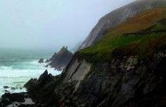 Slea Head, the rugged peninsula of the Dingle coast, Co. Kerry.  Location of movie Ryan's Daughter