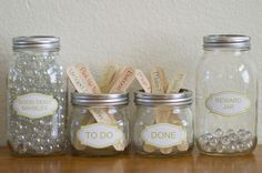 Simple Jar Chore and Reward System