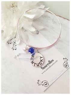 Kentucky UK Wildcats Bangle Charm Bracelet