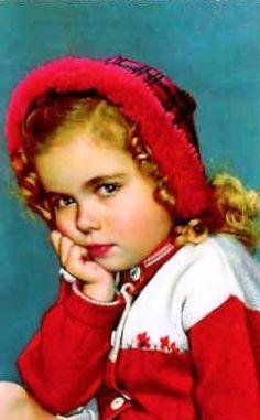 Vintage Postcard ~ Sweet Girl | Flickr - Photo Sharing!