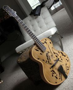 IL TEREDO Archtop  Very unique, the story is worth reading.