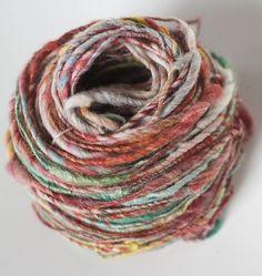 beautiful handspun yarn from Magnolia Handspun.