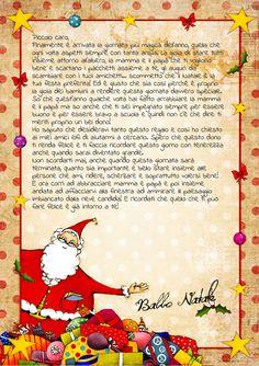 Richiedi la lettera da Babbo Natale