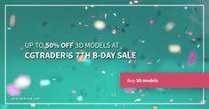 CGTrader 7th Birthday Super Sale