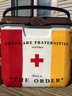 there are fraternities and then there is the order, KA Order, Kappa Alpha Order ~cooler connection on facebook