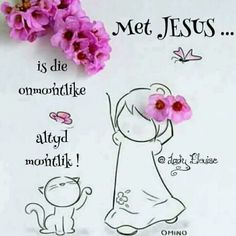 Afrikaanse Quotes, Goeie More, Inspirational Qoutes, Good Morning Wishes, Word Of God, Prayers, Place Card Holders, Words, Lisa
