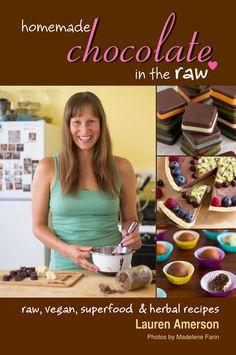 Homemade Chocolate in the Raw - raw vegan & herbal recipe book