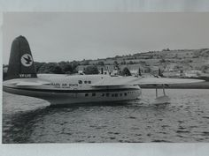 A big boost came with the popularity of Irish coffee--unknown in Ireland or anywhere else until 1942 when first created at the bar at Foynes Dock, where the flying boats (below) docked during World War II, then promoted as a welcoming drink at Shannon Airport. In 1952 American newsman Stan Delaplane introduced the beverage at San Francisco's Buena Vista Bar, where it became famous. A plaque outside the bar tells the story.    http://johnmariani.com/archive/2010/101219/index.html